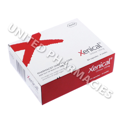Xenical (Orlistat) - 120mg (84 Capsules)